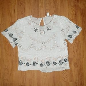 Forever 21 floral print top